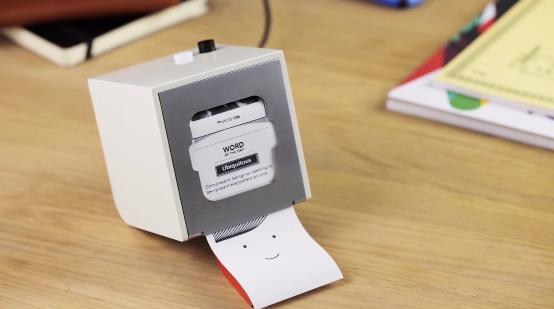 立方体の小さくてかわいいプリンタ「BERG Little Printer」日本からも購入可能に