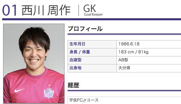 浦和レッズ、サンフレッチェ広島・西川周作を完全移籍で獲得すると発表