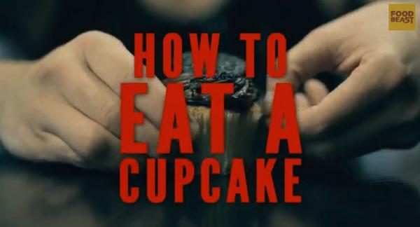 【動画あり】紳士のたしなみ!?カップケーキの食べ方