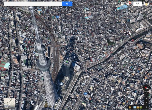Google、東京・神奈川・千葉・宮城の新しい3Dマップを公開