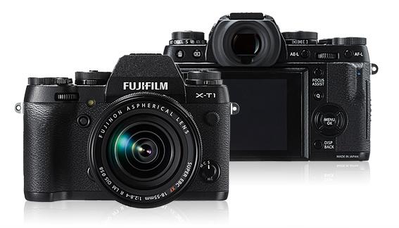 「FUJIFILM X-T1」防塵防滴のミラーレスカメラ