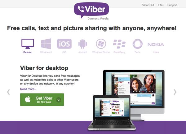 楽天、無料通話アプリ「Viber」買収