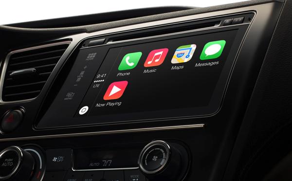 Apple「CarPlay」発表 → クルマでiOS!車内で安全にiPhoneをコントロール可能に
