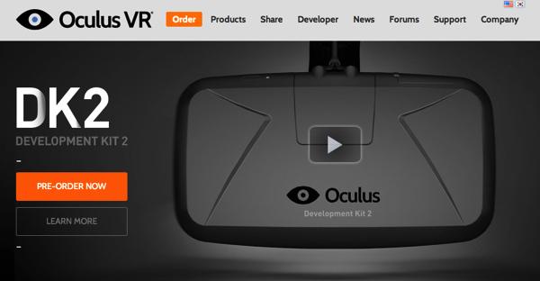 Facebook、仮想現実ヘッドセット「Oculus VR」買収