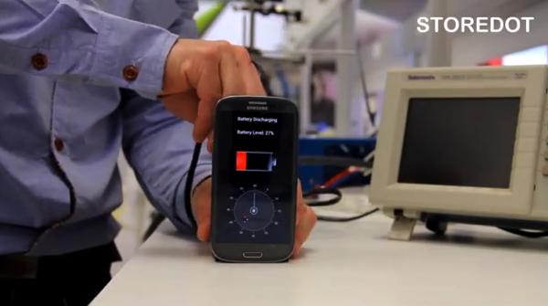【動画あり】ホンマかいな!?30秒でスマートフォンをフル充電する技術