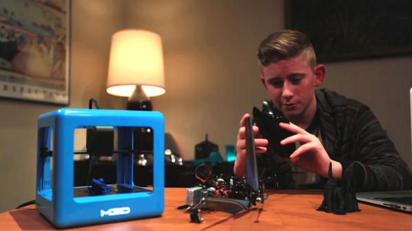 「Micro」わずか299ドルの3Dプリンター
