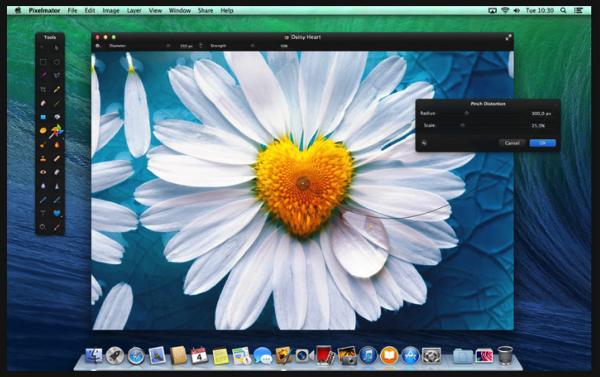 Mac向け画像編集ソフト「Pixelmator」半額の1,500円で販売中