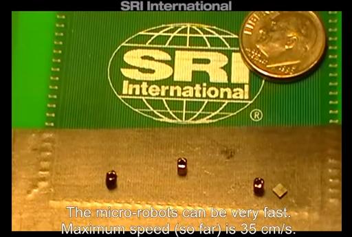 【動画あり】超高速に自由自在に動くことができる小さなマイクロロボットが凄い