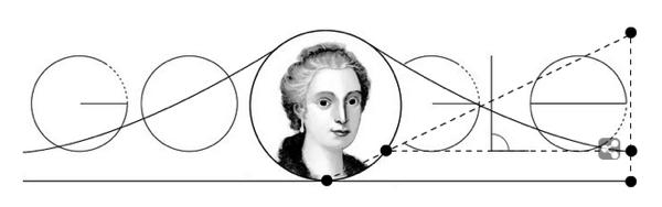 Googleロゴ「マリア ガエターナ アニェージ」に