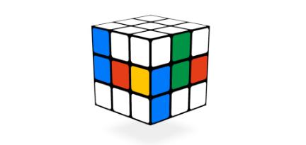 Googleロゴ「ルービックキューブ」に → 実際にルービックキューブで遊べるロゴ!