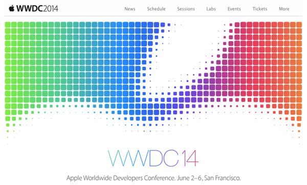 Apple「WWDC 2014」基調講演は日本時間2014年6月3日2時から