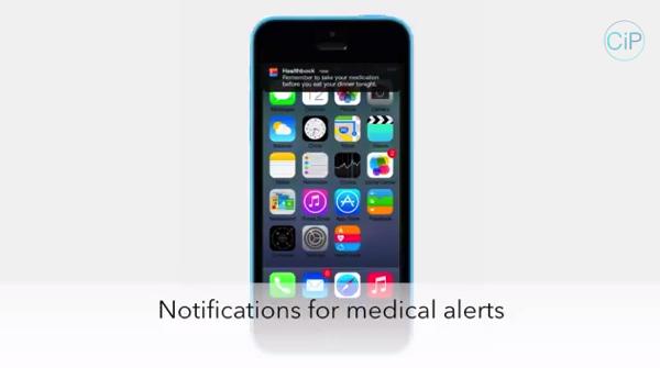 【iOS 8】新たに搭載予定の健康管理アプリ「Healthbook」コンセプト動画