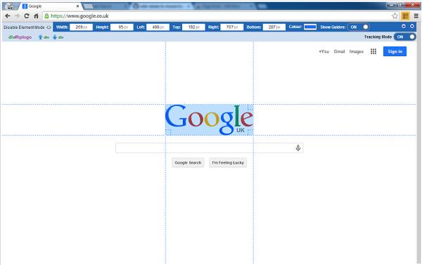 ウェブの画像サイズを計測できるGoogle Chrome機能拡張「Page Ruler」