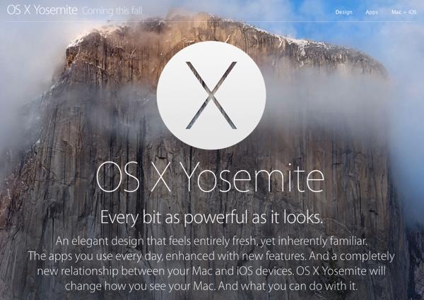 Apple「OS X Yosemite」発表 → iCloudをFInderから使えるようにする「iCloud Drive」やMacとiOSでファイル転送できる「AirDrop」