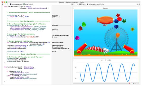 Apple「Swift」発表 → iOS/OS X向け開発の高速なプログラム言語