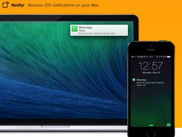 「Notifyr」iPhoneのプッシュ通知をMacで受信するアプリ