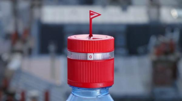 【動画あり】水の飲み忘れを防ぐボトルキャップ