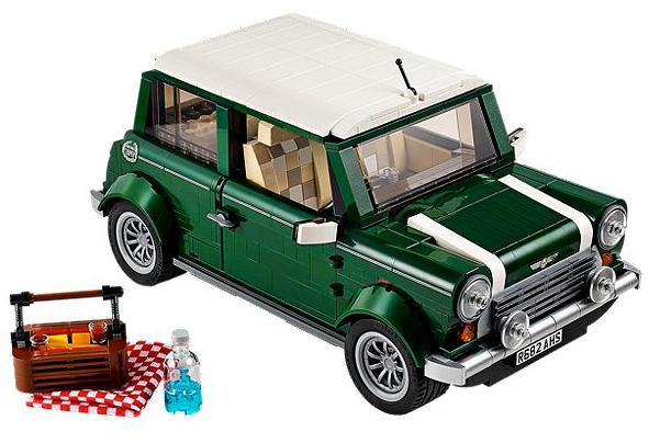 レゴから「MINI Cooper」登場、これは作ってみたい!(LEGO 10242)