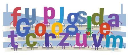 Googleロゴ「ワールドカップ2014」に(6月16日)