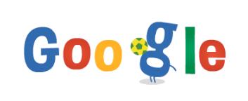 Googleロゴ「ワールドカップ2014」に(6月19日)