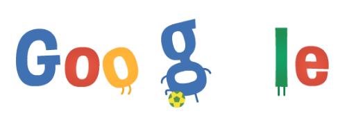 Googleロゴ「ワールドカップ2014」に(6月20日)