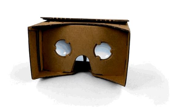 Google、段ボール製で手作りしてAndroidと組み合わせて使うVRゴーグル「Cardboard」発表