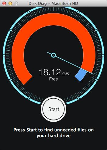 「Disk Diag」Mac内の不要なキャッシュをワンクリックで削除するアプリが80%オフで100円