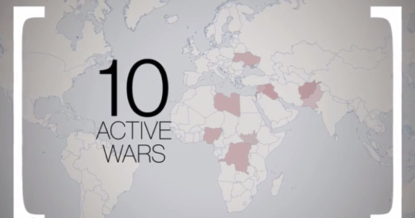 【動画】いま世界ではどれだけの戦争が起こっているのか?