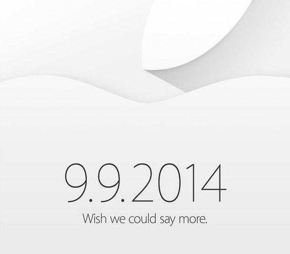 Apple、公式に2014年9月9日にスペシャルイベント開催を発表 → iPhone 6とiWatchを発表か?