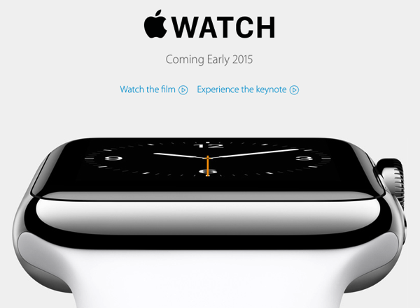 「Apple Watch」生活防水で左利きにも対応し駆動時間は1日