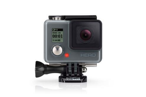 「GoPro Hero」エントリーモデルが129ドルで登場