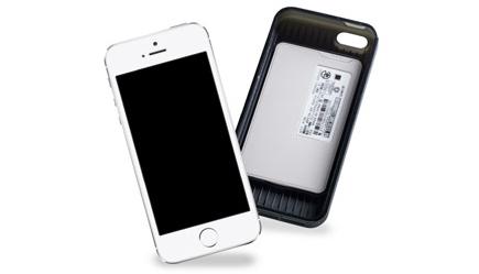 ドコモ、iPhoneに装着する「おサイフケータイ ジャケット01」発表