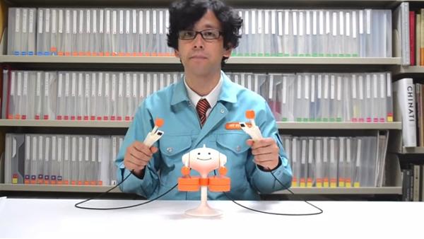 【動画】明和電機の打楽器玩具「Mr.Knocky」が面白過ぎる!叩いてみたい!