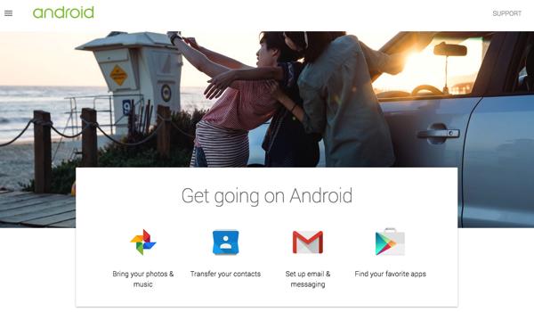 Google「Switch to Android」iPhone/iPadからAndroidに移行する手順を紹介したサイトを公開