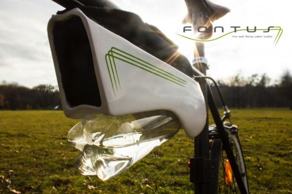 「Fontus」自転車で1時間走行すると0.5リットルの水が取り出せるシステム