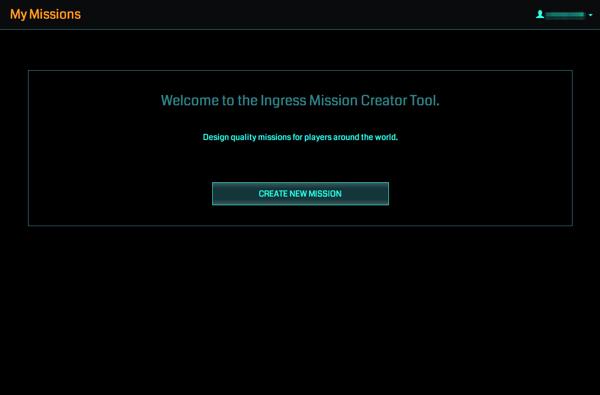 【Ingress】Missionsを作成する「Mission Creator Tool」公開範囲が拡大