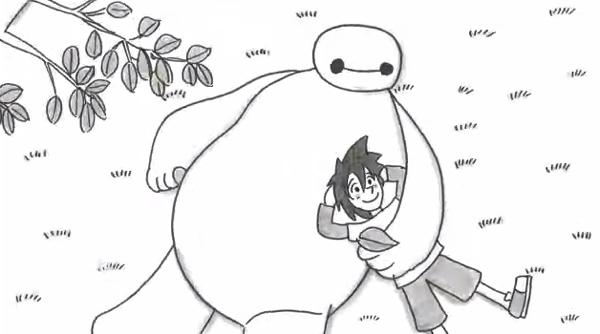 【動画】鉄拳がディズニー映画「ベイマックス」を独自の視点でパラパラ漫画に描き下ろし