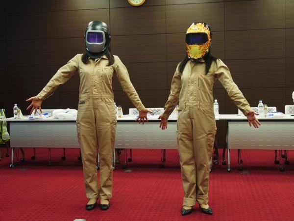 3Mのブロガーイベント第2回「着て、かぶって、守る、3M!」レポート → ダフトパンクになれる溶接面が欲しい! #3mjp