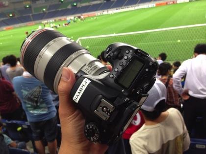 【EOS 70D】アーセナルの公開練習を撮影した写真&動画