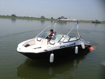 【ワンドラ・ボート部】霞ヶ浦でジェットボート「AR190」体験してきました!