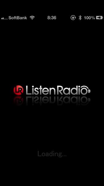 24時間無料!「ListenRadio」J-POP中心の音楽ストリーミングiPhoneアプリ