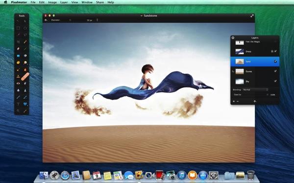 Mac向け画像編集ソフト「Pixelmator」がセール中!3,000円が1,600円に