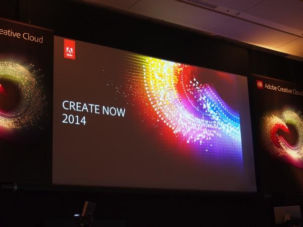 【Adobe Creat Now 2014】初のハードウェア製品となる「Ink」「Slide」&月額980円「Creative Cloud フォトグラフィプラン」などを発表