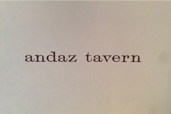 Andaz tavern 4858