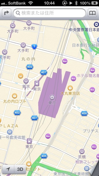 Apple map 7192
