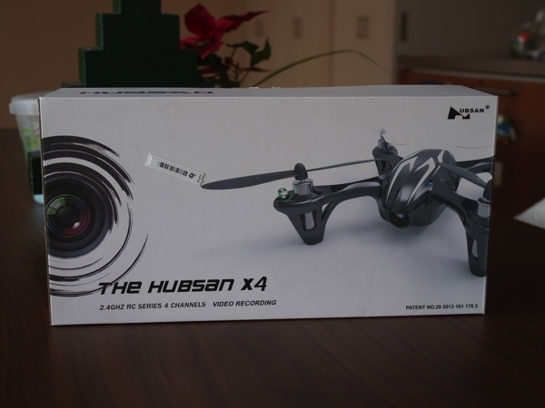 「HUBSAN X4 Cam」カメラ搭載!空撮可能なクワッドコプター