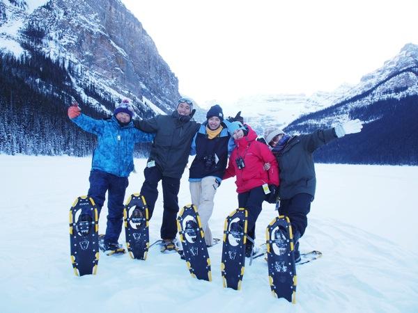 氷点下のカナディアンロッキー!ブロガー4人で冬のカナダ・アルバータ州を取材してきます #アルバータの冬