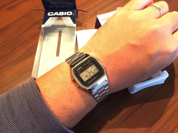 【カシオ】977円の「わが生涯最後のウォッチ」が届きました → 腕時計のある生活も悪くないですね