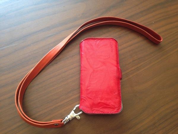 cheeroのiPhone用レザーケース「cheero Leather Case」が妻に好評です!