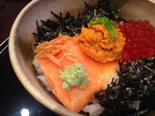 「茶屋 長作(新潟)」生うに、いくら醤油漬け、キングサーモンがドーン!の長作丼を食す!
